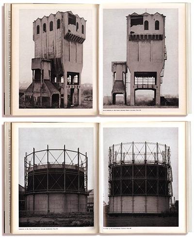 © Bernhard et Hilla Becher, Anonyme Skulpturen. Édition Art-Press Verlag, Düsseldorf, Allemagne. 1970